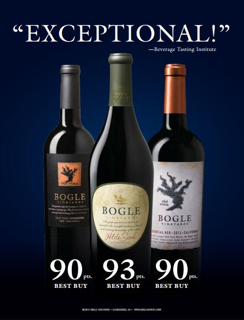 Bogle Vineyards Awards