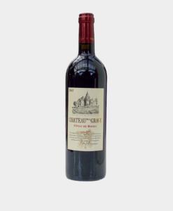 koop een fles Château de la Grave, Côtes de Bourg